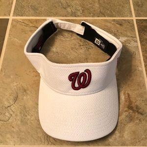 Authentic Washington Nationals visor
